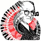 Pop Art Pugliese with Piano Keys and Carnation by infinitetango