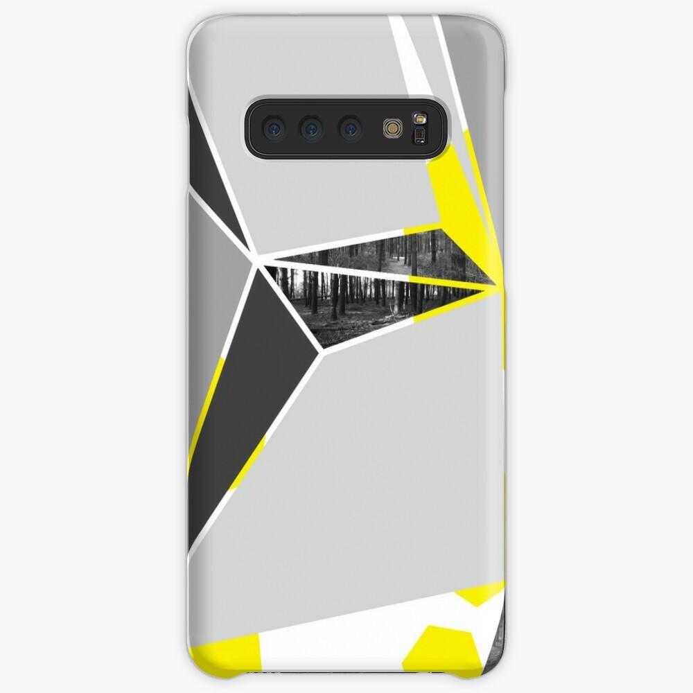 Fraktur Hülle & Klebefolie für Samsung Galaxy