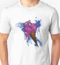 Eye Ball Ice Scream Unisex T-Shirt