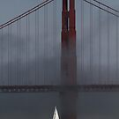 Karl and the Golden Gate Bridge by fototakerTony