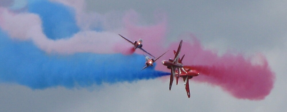The Red Arrows by Jon Clifton