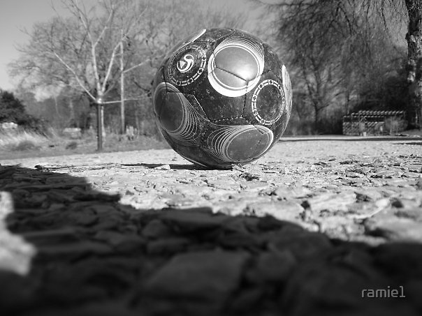 Maybe the Ball Doesn't Like Being Kicked? by ramie1