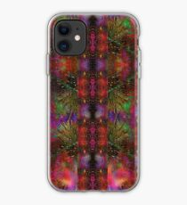 Pyrotechnic Pattern iPhone Case