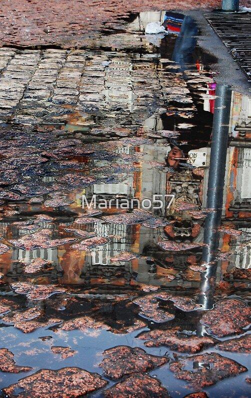 Plaza Mayor in Cobble Stone by Mariano57