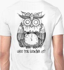 Tick Tock Hoot Unisex T-Shirt