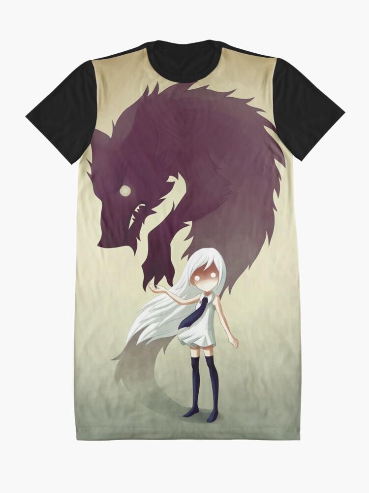 Alternate view of Werewolf Graphic T-Shirt Dress