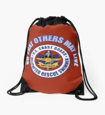 So That Others May Live (Rescue Swimmer) Drawstring Bag