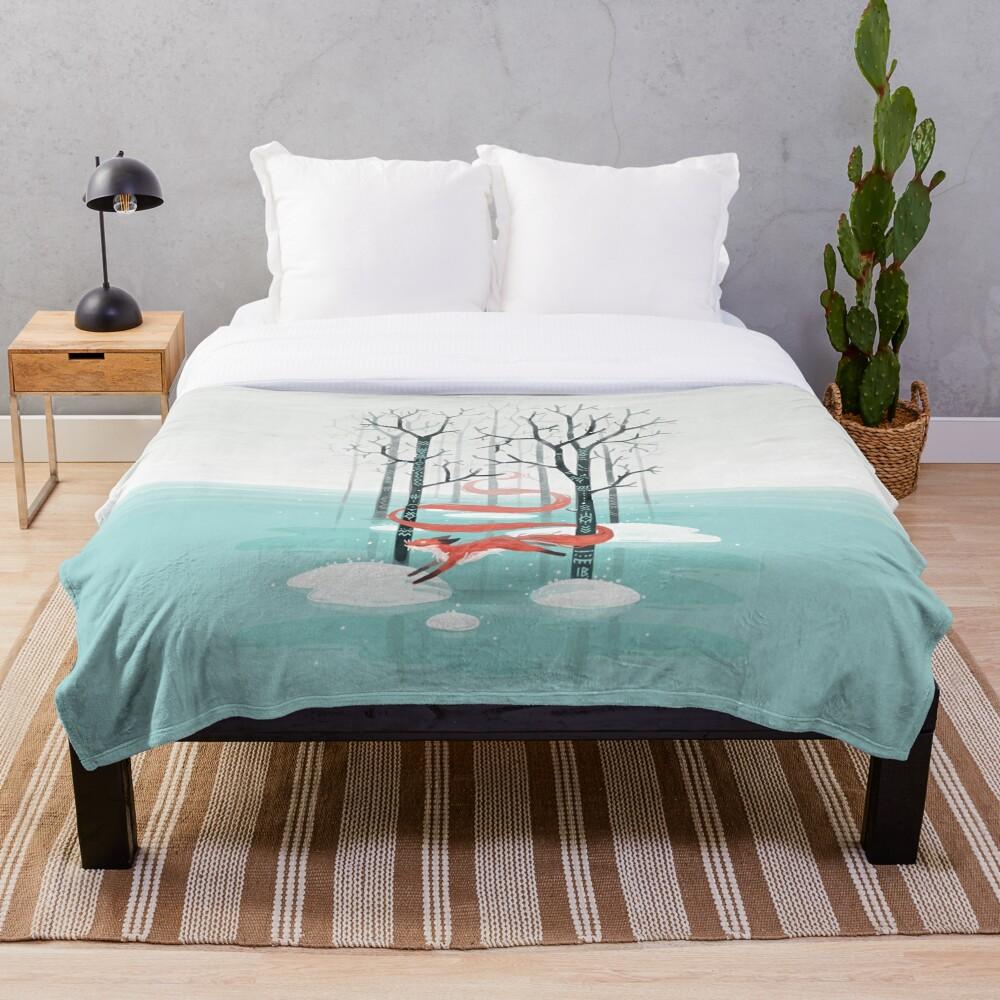 Forest Spirit Throw Blanket