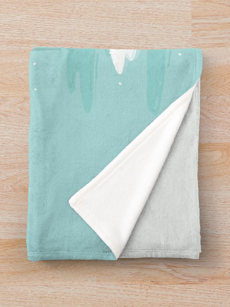 Alternate view of Forest Spirit Throw Blanket