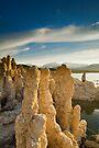 Mono Lake CA Family Portrait by photosbyflood