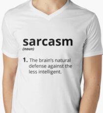 Sarcasm Men's V-Neck T-Shirt