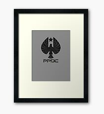Pan Pacific Defense Corps Framed Print