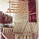 Old Porch Swing by Greeting Cards by Tracy DeVore