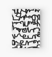 Graphic Scribble Hardcover Journal