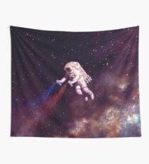 Shooting Stars - der Astronautenkünstler Wandbehang