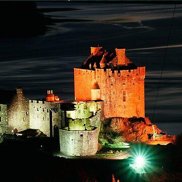 Eilean Donan Castle , Scotland by goldyart