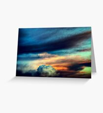 Sunset Cloudscape Greeting Card