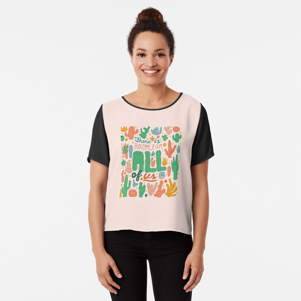 Room for All Chiffon Top