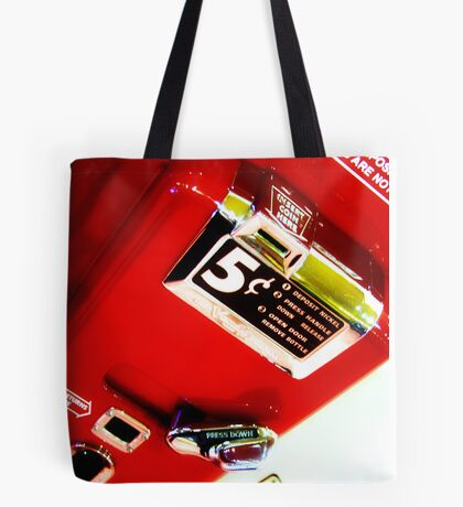 5¢ coke in bottles Tote Bag