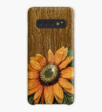 Sunflower Bling ~ Straw into Gold Case/Skin for Samsung Galaxy