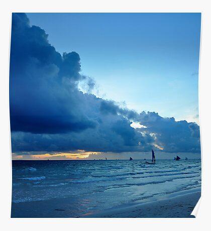 Boracay Sunset I Poster