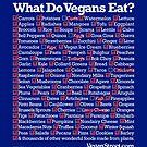What Do Vegans Eat? by VeganStreet