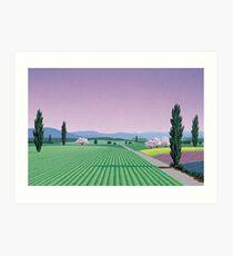 Hiroshi Nagai Vaporwave Shirt      Art Print