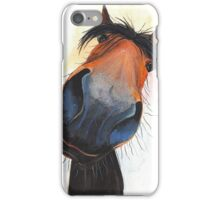 HAPPY HORSE 'HAPPY DAVE' BY SHIRLEY MACARTHUR iPhone Case/Skin