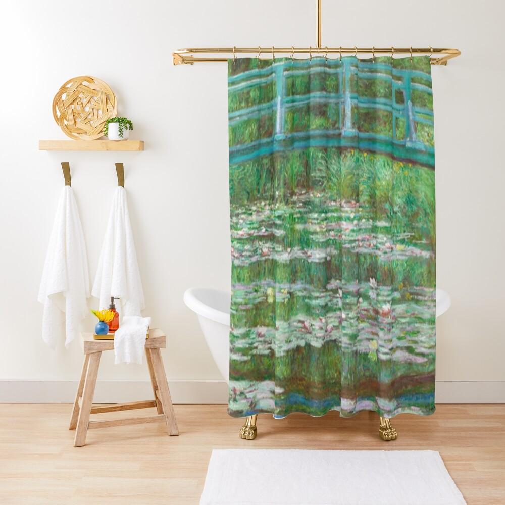 Monet Painting Shower Curtain