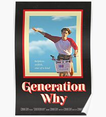"Conan Gray ""Generation Why"" Vintage Film Poster Poster"