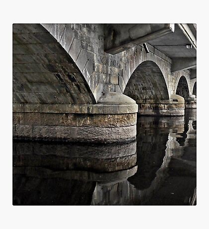 Bridge over Smooth Waters Photographic Print