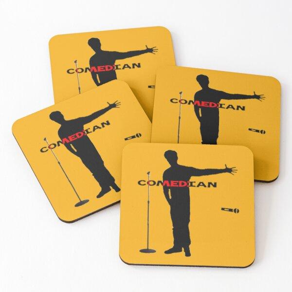 Comedian Coasters (Set of 4)