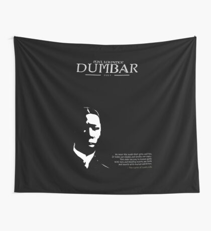 A Quote By Paul Dumbar Wall Tapestry