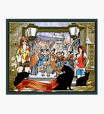The Carol singers Photographic Print