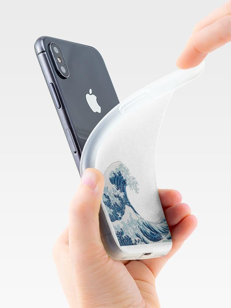 Alternative Ansicht von Wave Sticker iPhone-Hülle & Cover