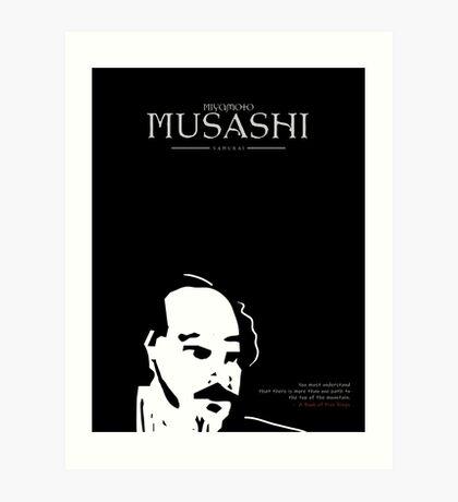 A Quote By Miyamoto Musashi Art Print