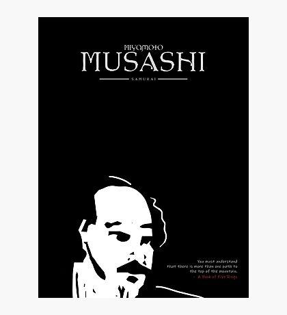A Quote By Miyamoto Musashi Photographic Print
