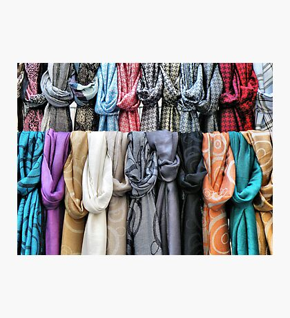 Scarves Photographic Print