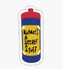 Michaels Secret Stuff Sticker