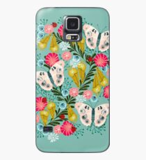 Buckeye Butterly Florals by Andrea Lauren  Case/Skin for Samsung Galaxy
