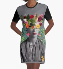 And women like her cannot be contained... Graphic T-Shirt Dress