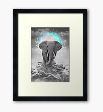Strength & Courage To Stand Alone Framed Print