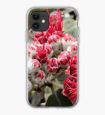 Dekadente rote Ohia Lehua Blüte iPhone-Hülle & Cover