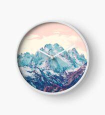Memories of a sky palette Clock