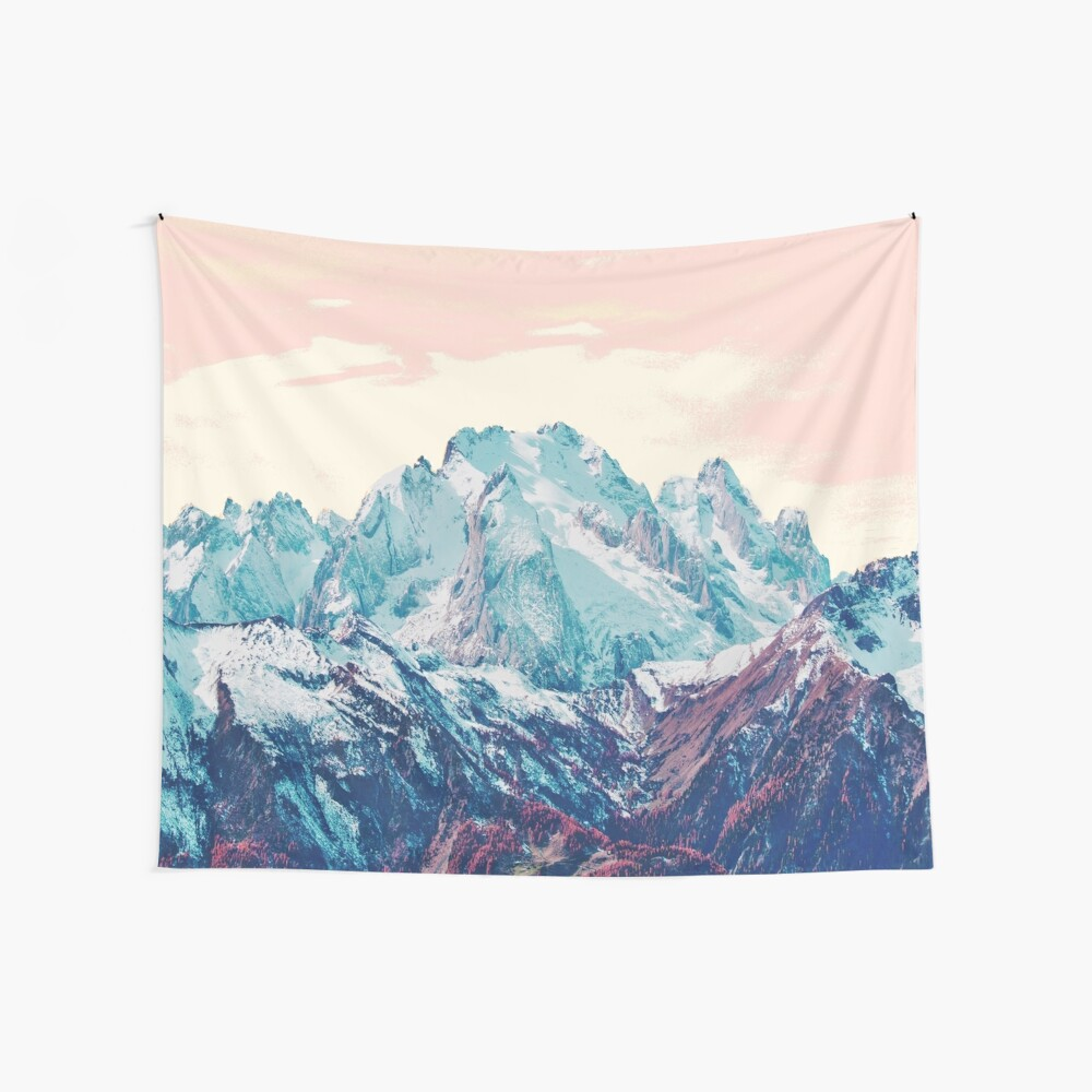 Memories of a sky palette Wall Tapestry