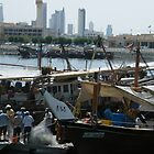 Fishermen at work by Joyce Knorz