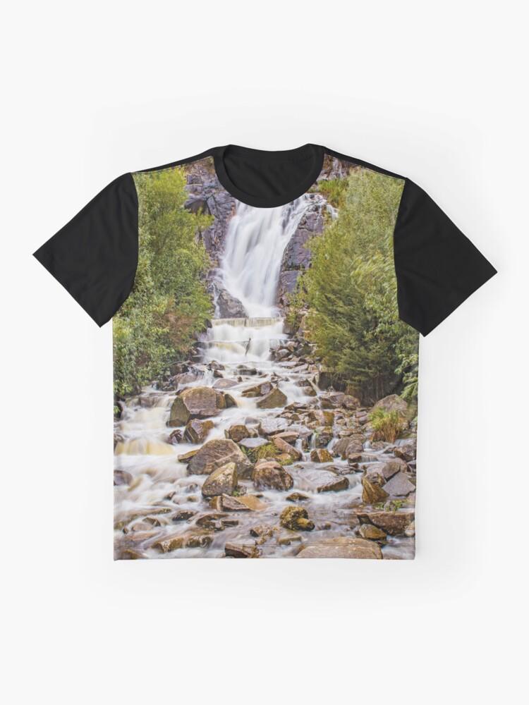Alternate view of Splendid Waterfall Graphic T-Shirt