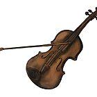 Violin illustration by Matt Corrigan