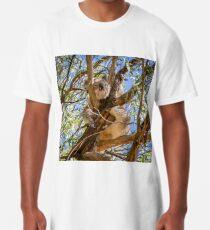Pooping Koala! Long T-Shirt