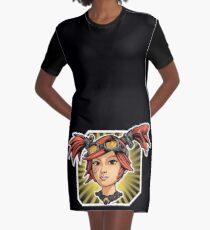 Gaige Graphic T-Shirt Dress